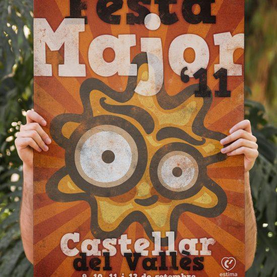 Cartell Festa Major Castellar del Vallès 2011